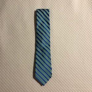 Nautica Blue Stripe Tie